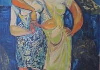 1954-ritratti-RAGAZZE-DI-ACITREZZA-tempera-coll-priv.-solo-foto